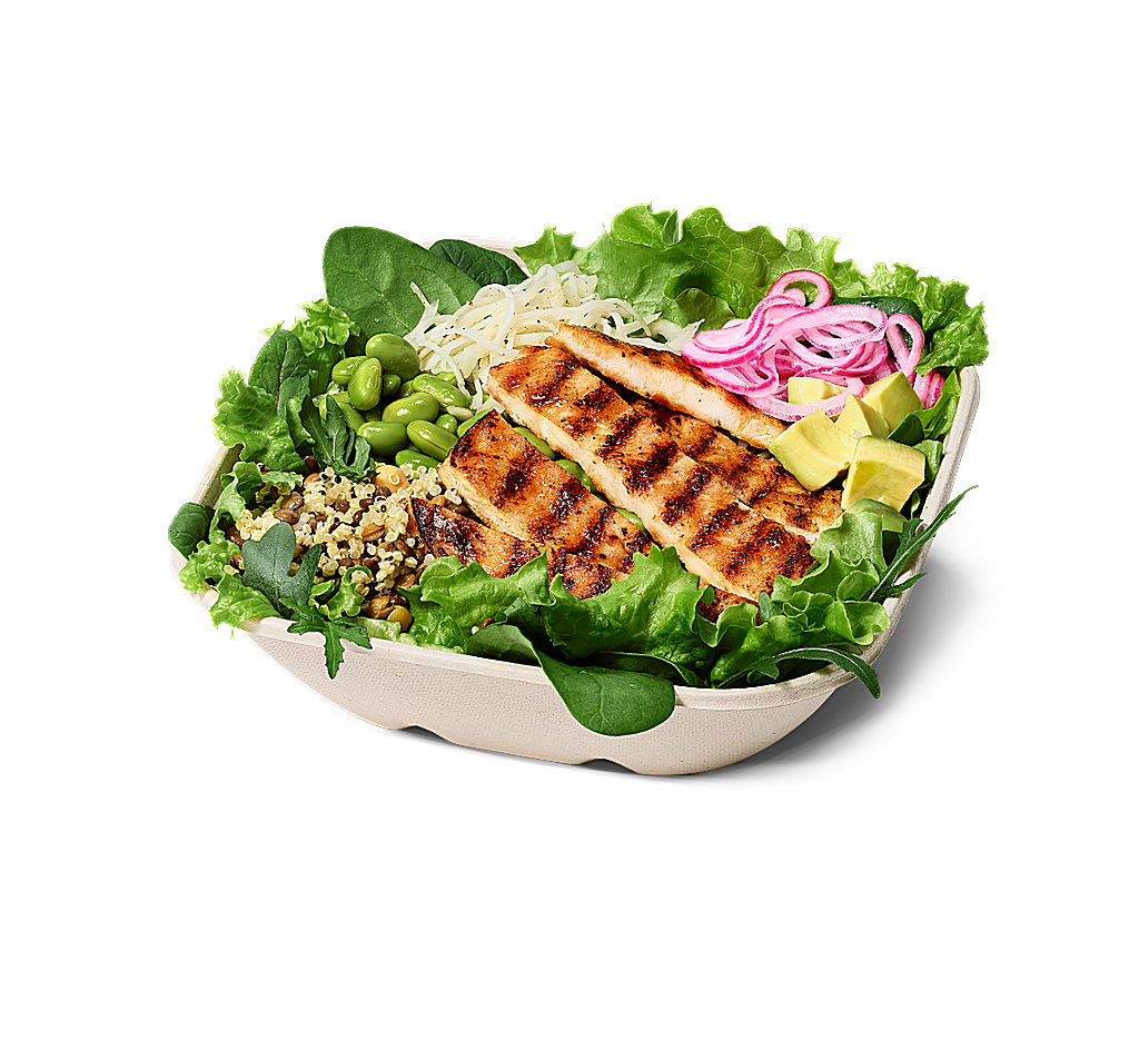 Grilled Chicken Salad Bowl