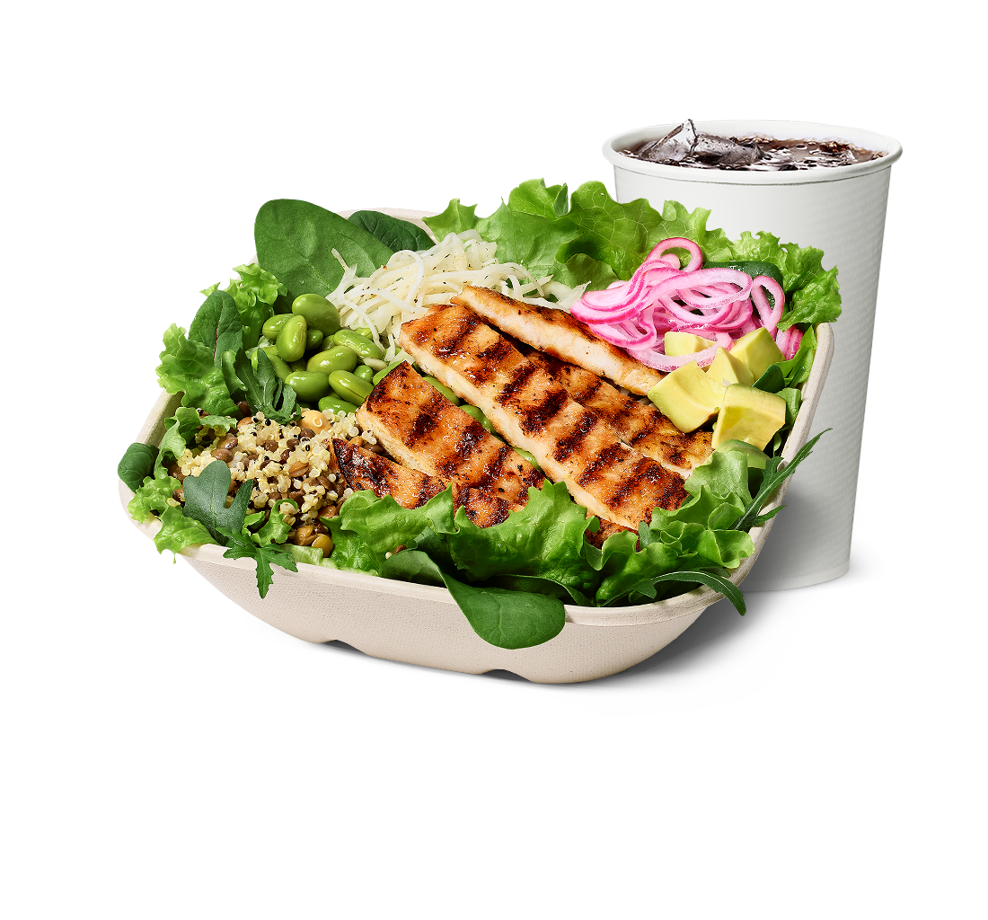 Grilled Chicken Salad Bowl-mål