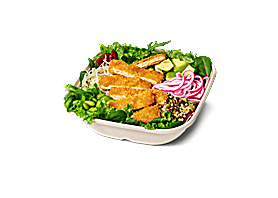 Crispy No Chicken Salad Bowl