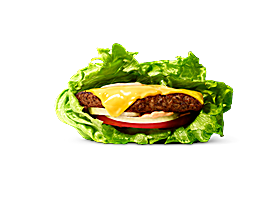 Salad Wrap Burger